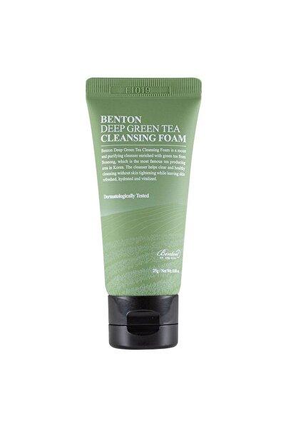 Benton Deep Green Tea Cleansing Foam Deluxe 25g - Yeşil Çay Temizleyici