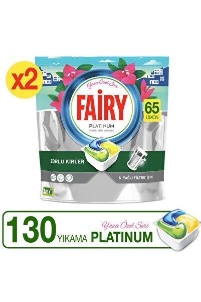 Fairy Platinum 130'li Yaza Özel Seri Bulaşık Makinası Kapsülü (65x2)