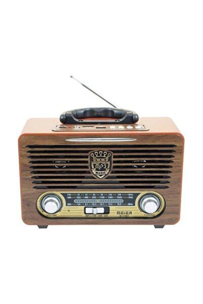 Meier 115 Bt Bluetoothusb Sd Kart Girişli Kumandalı Radyo Mp3