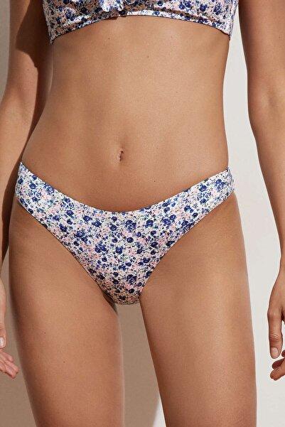 Oysho Minik Çiçekli Klasik Bikini Altı
