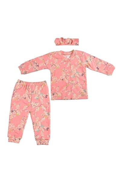 Bebepan Bebek Pembe Pijama Takımı 2085