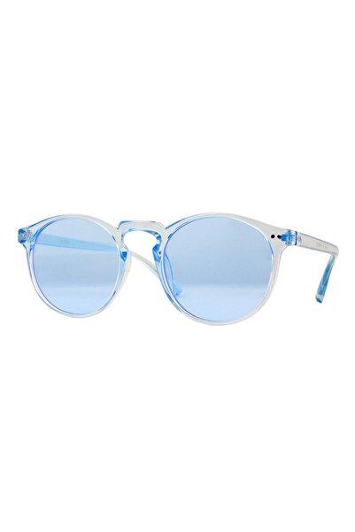 CLAES Margot Blue Vintage Fashion Hafif Unisex Güneş Gözlüğü