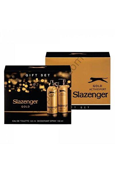 Slazenger Gold Edt 125 Ml + 150 Ml Erkek Deodorant Kofre Set