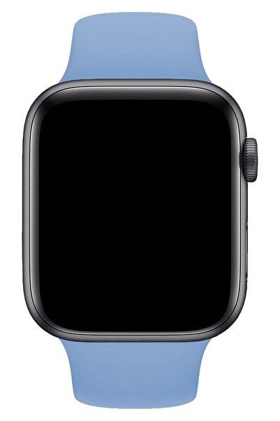 Melefoni Apple Watch Uyumlu 42 Mm Silikon Spor Kordon Kayış