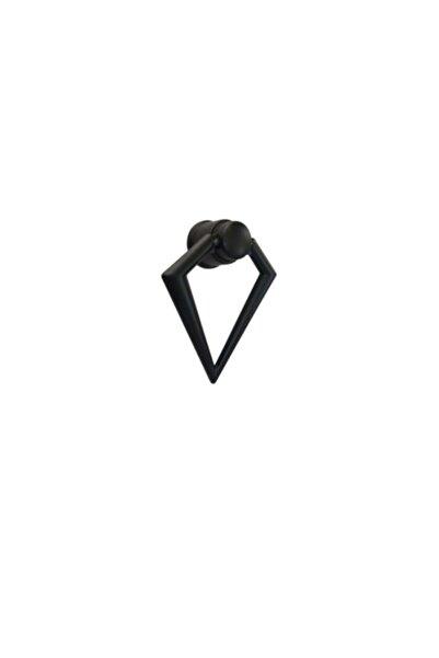spotkulp Üçgen Sarkaç Düğme Kulp Siyah (dolap Çekmece Mobilya Mutfak)