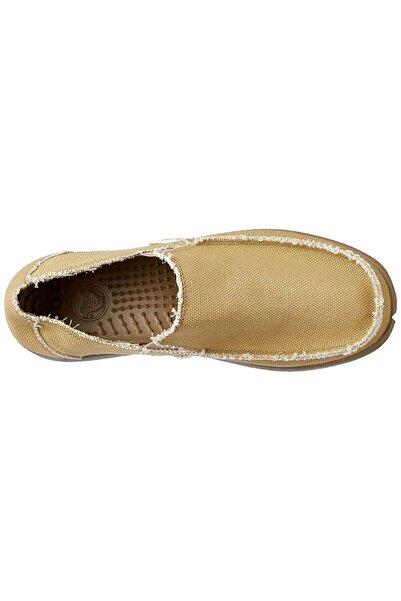 Crocs Santa Cruz Mens Khaki Loafers Ayakkabı