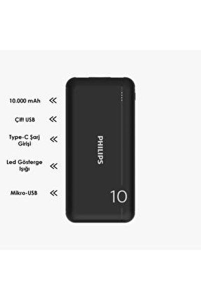 Powerbank Ultra Compact 10000 Mah Dlp Seri Dlp1810nb/62 Taşınabilir Şarj Cihazı Çift Usb Çıkışı
