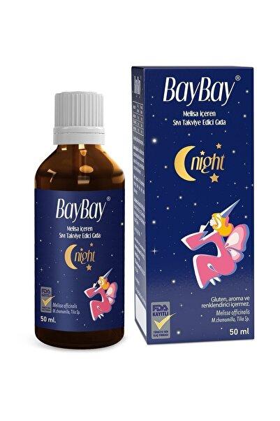 Baybay Night Damla 50 ml Melisa Ekstresi Içeren Damla