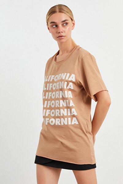 adL Kısa Kol Baskılı Tişört