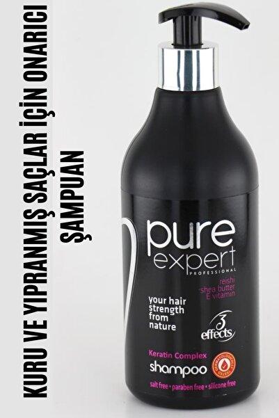 Pure Expert Kuru Ve Yıpranmış Saçlar Için Onarıcı Bakım Şampuanı 500 ml