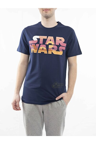 MARVEL Star Wars Sunset Lacivert T-shirt