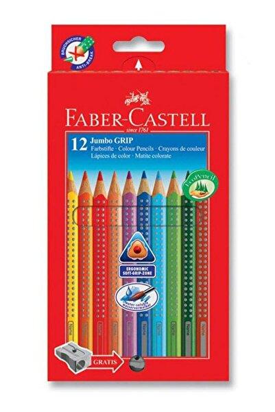 Faber Castell Jumbo Grip Boya Kalemi, 12 Renk