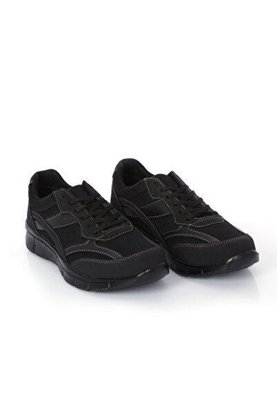 Rock & Roll Siyah Hafif Kaymaz Tabanlı Erkek Sneaker