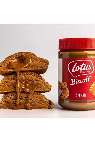 The Box Bakery 6'lı New York Cookie Box - Lotus Biscoff Kremalı