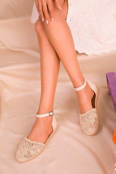 SOHO Bej-Ten Kadın Sandalet 15046