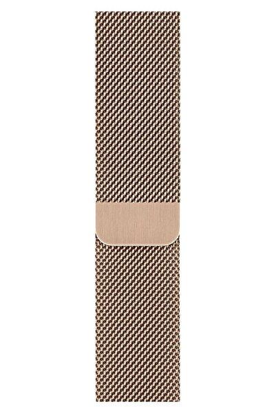 Apple Watch 2 3 4 5 6 Se Nike 38mm 40mm Kordon Kayış Bileklik Milano Loop Metal Örgü