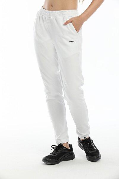 BESSA Kadın Jogger Eşofman Altı Beyaz
