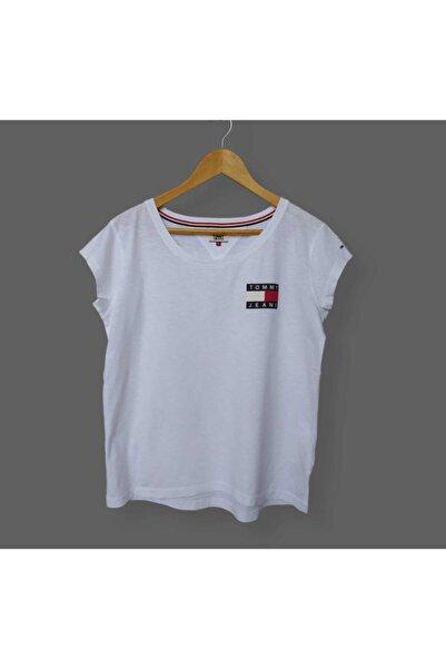Tommy Hilfiger Tommy Hılfıger Chest Box Logo Women Tee