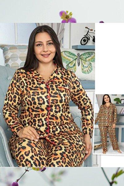 Massimo Love Kadın Large Sıze Pajamas Set