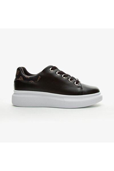 Guess Bradly 2 Kadın Siyah Günlük Ayakkabı