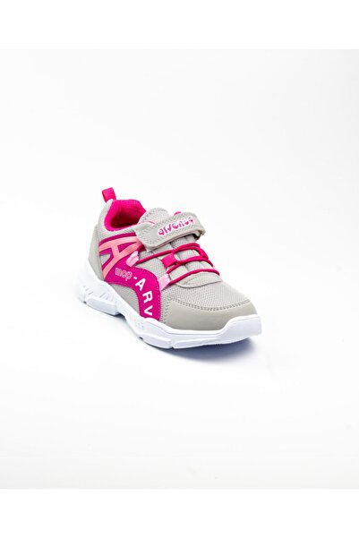 Arvento 370 Çocuk Spor Ayakkabı Gri Gri-34