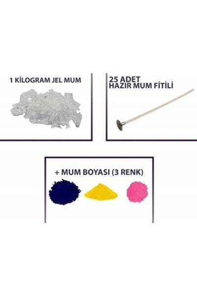Kimyacınız Jel Mum Seti 1