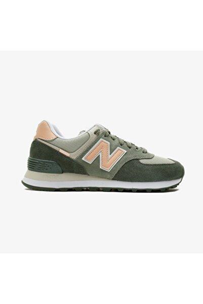 New Balance 574 Kadın Yeşil Spor Ayakkabı