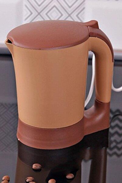 PLASTIKA Elektrikli Mini Su Isıtıcı Kettle Kahve Makinesi 600 Ml Ekonomik
