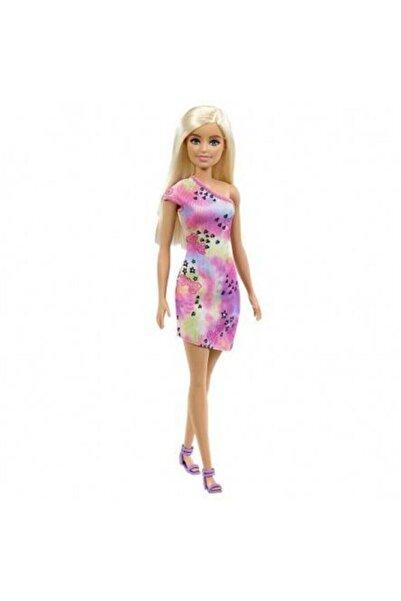 Barbie Bebek Sarışın Renkli Elbiseli Gbk92-gvj96