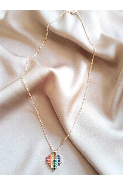 Lydia Jewelry Kalpli Rainbow Kolye
