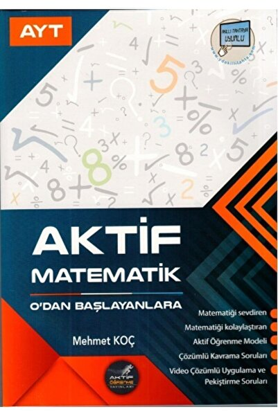 A Yayınları Aktif Ayt Matematik 0'dan Başlayanlara