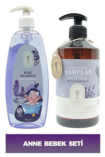 Dr. Lavender Lavanta Yağlı Şampuan Kepek Ve Dökülme Karşıtı 500 Ml + Bitkisel Lavanta Bebek Şampuanı