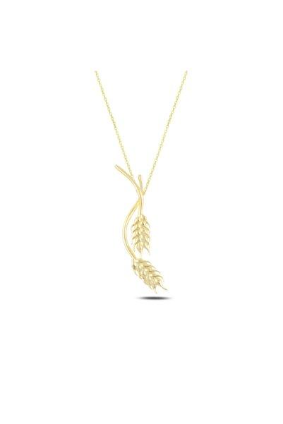 Silverella Gümüş 925 Ayar Buğday Başağı Hayalet Kolye