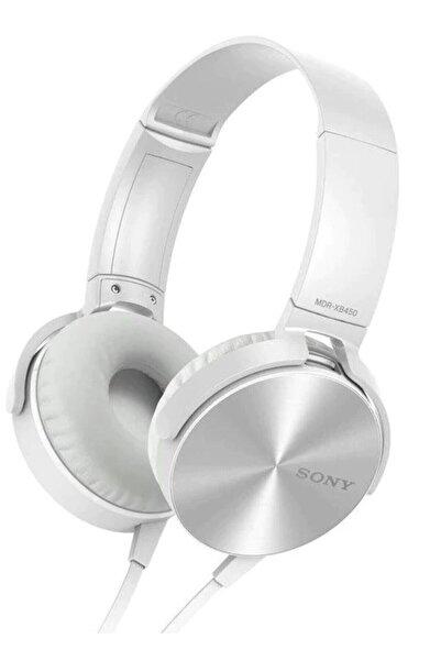 OKMORE Kafa Üstü Telefon Oyun Kulaklığı Extra Bass Stereo Beyaz