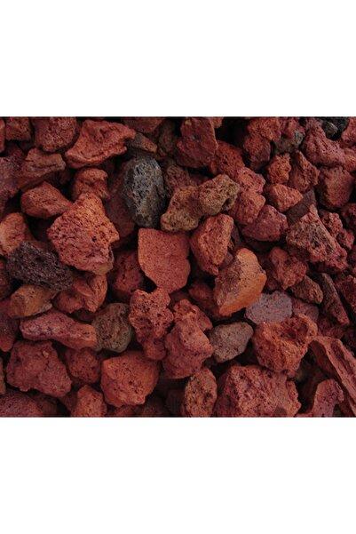 MF Botanik Kırmızı Pomza Taşı 12-18 Mm 5 Litre Volkanik Ponza Lav Taşı