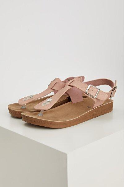 DeFacto Çift Bantlı Parmak Arası Sandalet