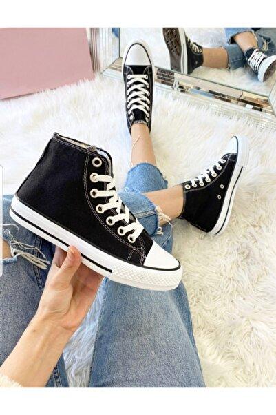bolella Unısex Siyah Uzun Cvrs Spor Ayakkabı