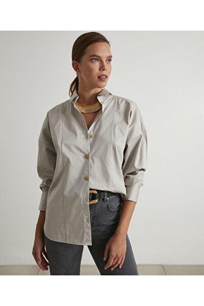 İpekyol Yaka Detaylı Gömlek