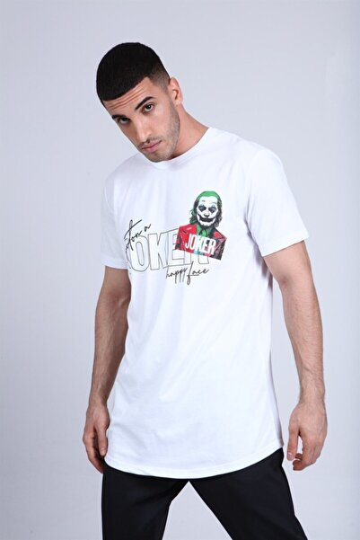 Rocqerx R-5220 Joker Baskılı T-shirt