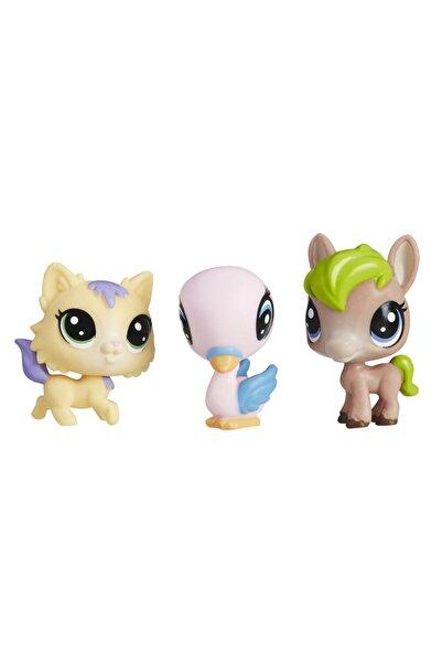 Littlest Pet Shop Mini Miniş Figür Üçlü Paket E0457