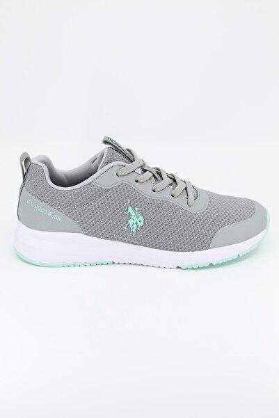 U.S. Polo Assn. Kadın Spor Ayakkabı Smart Gri/grey 21s040smart