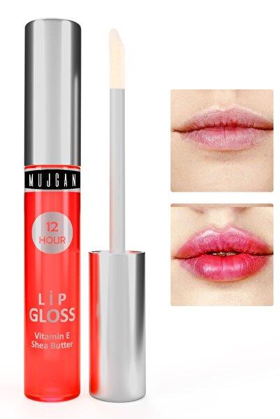 MUJGAN Dudak Bakım Nemlendiricisi Lip Glos Vitamin E Pembe Ambalaj 4 ml