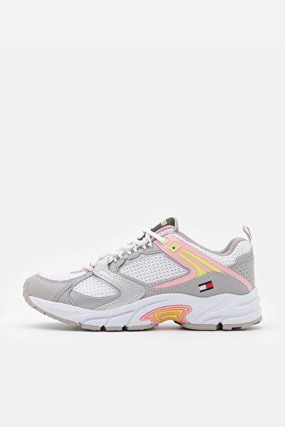 Tommy Hilfiger Kadın Gri Sneaker EN0EN01356