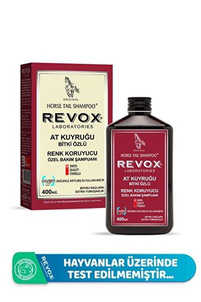 Revox Boyalı Saçlara Özel Renk Koruyucu At Kuyruğu Bitki Özlü Şampuan