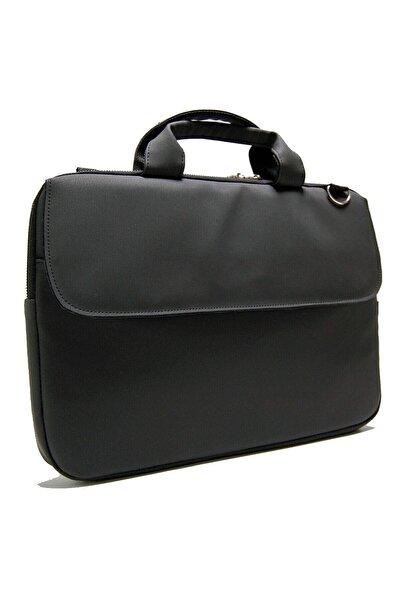 D'VERS Siyah Macbook Air Pro 13 13.3-14 Inç Darbeye Karşı Korumalı Laptop Çantası