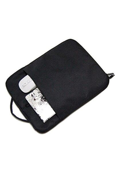 D'VERS Füme Unisex 13 - 13.3 - 14 Inç Uyumlu Macbook Kılıf Notebook Laptop Çantası Ys