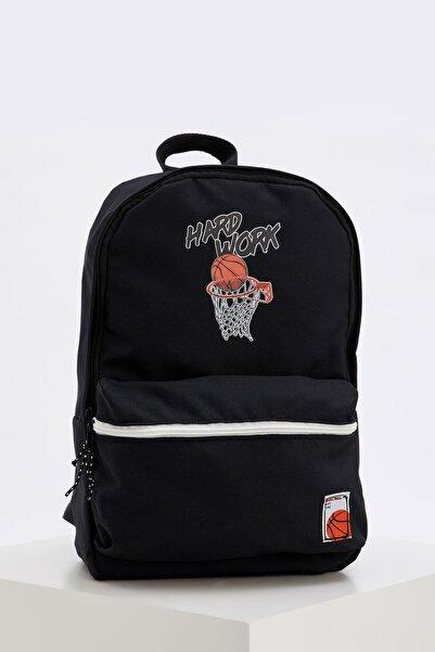 DeFacto Basketbol Baskılı Sırt Çantası