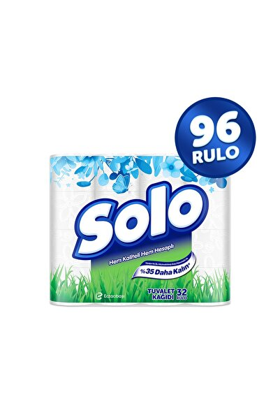 Solo Tuvalet Kağıdı 96 Rulo (32x3 Rulo)