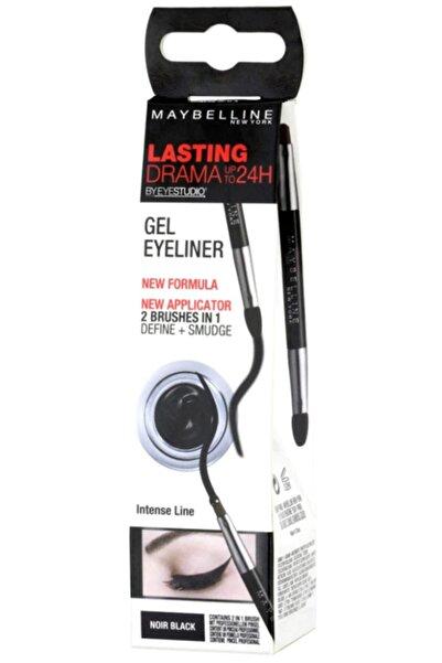 Maybelline New York Eye Studio Jel Siyah Eyeliner