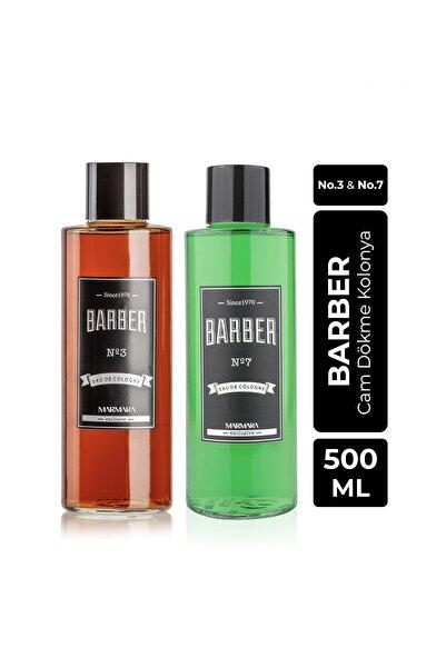 Barber Cam Kolonya Seti 2x500 Ml No.3 Ve No.7